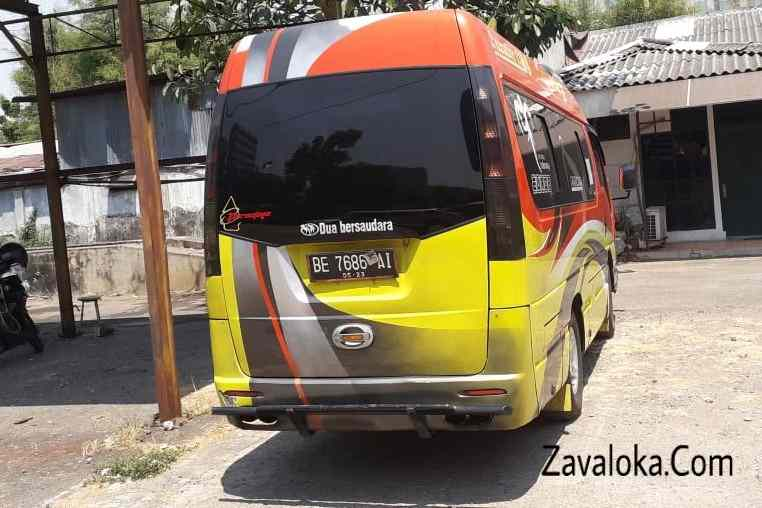 Travel Tangerang ke Lampung berkualitas